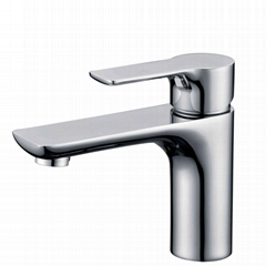 China Factory Wholesale Quality Assurance Single Bathroom Sanitary Basin Faucet