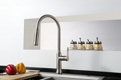 New Style Pull Out Kitchen Faucet Modern Shower And Water Ways Kitchen Taps