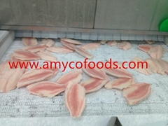 Frozen tilapia fillets supply from China IQF