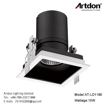 Artdon 10W Square Down Light AT-LD1186 1