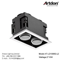 Artdon 10W Double Head Square Down Light