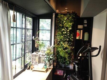 移動式植物牆 1