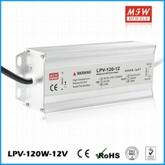 120W Constant Voltage IP67 220V 230V ac to 12VDC waterproof LED driver