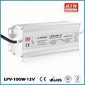 100W 12V DC constant voltage waterproof