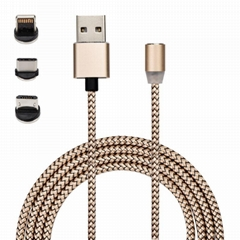 360 degree magnetic usb charging cable
