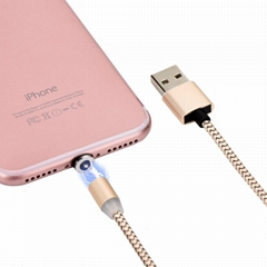 3in1 magnetic usb charging cable