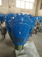 工程打樁用高品質橡膠密封三牙輪鑽頭