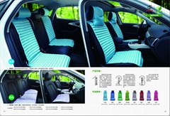 full set candy color Eco-friendly auto seat cover for health