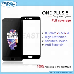 2.5D Tempered glass screen protector for onePlus
