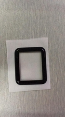 3D fiber frame tempered glass screen protector for Iwatch