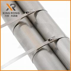 供应兴荣XR-C不锈钢扎带 金属扎带 不锈钢线束带
