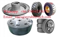 rubber solid tyre mould