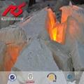 耐火磚用的白剛玉段砂99% 白