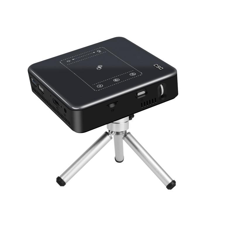 C9微型投影儀便攜式12核1080p辦公wifi手機投影機 4