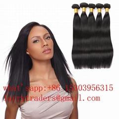 Brazilian Straight 100% Unprocessed Virgin Human Hair Weave