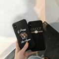New full package tpu+pc Gucci cover case for iphone x 8 8plus 7 7plus 6 6plus
