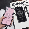 2018 Many luxury brand electroplate Show chain case for iphone X 8 7 6 plus