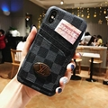 New Logo Three card  LV case for iphone XS XS MAX IPHONE X 8 7 8PLUS CASE