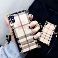 New model burberry case for iphone xs max x xr 8 8plus 7 7plus 6 6p