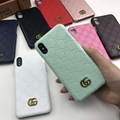 New color gucci embossed phone case for iphone x xs max xr 8 8plus 7 7plus 6