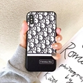 Dior full cover case dior case for iphone xs xr xs max iphone 7 7plus 8 8plus 6