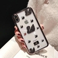 2019 New beautiful  swan slavo cover case for iphone xs max xr x 8 8plus 7 7plus