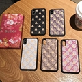 New leather gucci phone case with bee for iphone x xs xr xs max 7 7plus 8 8plus