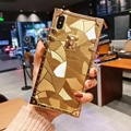 Fashion Beautiful gold case for iphone X XS XS max XR 7 7plus 8 8plus