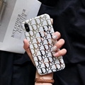Gucci Gold stamping phone case for iphone XS MAX XR X 8 8plus 7 7plus s10 s10+