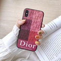 3D leather Dior leather case for iphone XS MAX XR X 8 8plus 7 7plus
