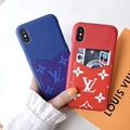 LV official website LV case with card for iphone xs max xr 8 8plus 7 7plus