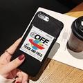 Pretty color New Off white phone case