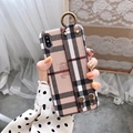Burberry phone case with belt for iphone xs max xr 8 8plus 7 7plus samsung case