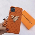 New color new logo lv case for iphone 11 pro max xs max xr 7 8plus samsung 2