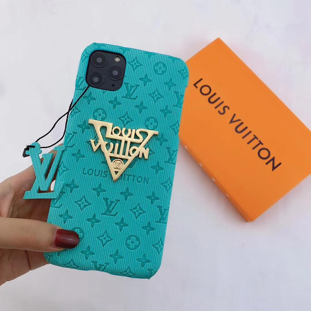 New color new logo lv case for iphone 11 pro max xs max xr 7 8plus samsung 4