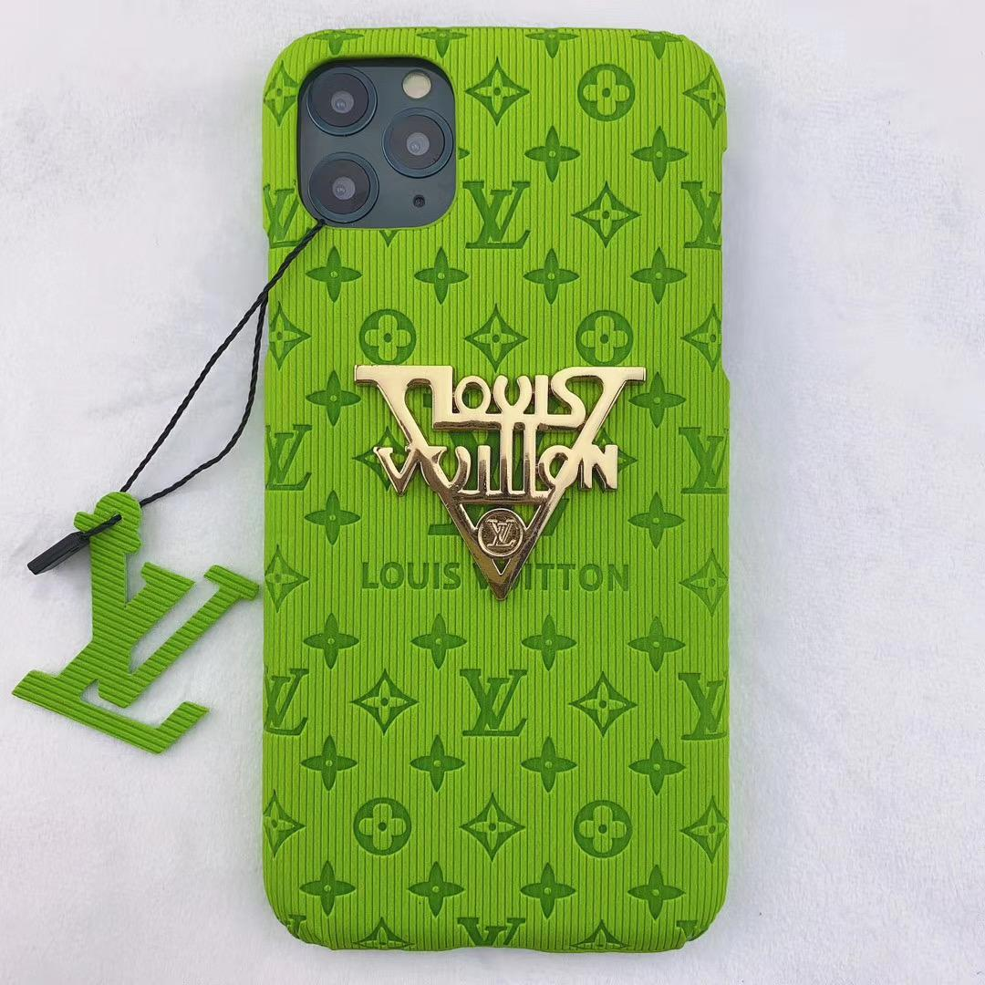 New color new logo lv case for iphone 11 pro max xs max xr 7 8plus samsung 6