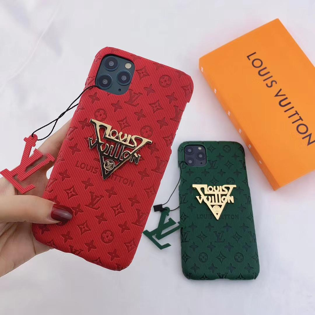 New color new logo lv case for iphone 11 pro max xs max xr 7 8plus samsung 7