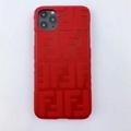 New design Fendi f embossed case for iphone 11 pro max xs max xr 7 8plus samsung 4