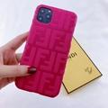 New design Fendi f embossed case for iphone 11 pro max xs max xr 7 8plus samsung 9