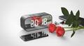 Factory direct sale wireless bluetooth speaker sound box with alarm clock
