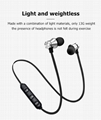 Bluetooth V4.2 Wireless Stereo Earphone Sport Headset  Waterproof Earbuds With M