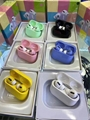 TWS Air pro 3 wireless bluetooth earphones earbuds color full earphones
