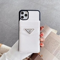 New Logo PRADA case with card for iphone 11 pro max xs max xr 7 8plus samsung
