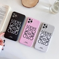 Luxury Brand LOEWE case for iphone 12 pro max 11 pro max xs max xr 8plus