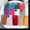Wholesale brand leather case for iphone 12 pro max xs max xr 11 pro max samsung