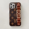 Office website LV case with belt for iphone 12 pro max 11 pro max xs max 7 8