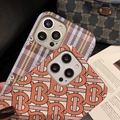 Burberry phone case for  iphone 12 pro max 11 pro max xs max 7 8