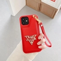 New LV phone case with card for iphone 12 pro max 11 pro max xs max 7 8