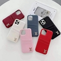 LV leather phone case with card for iphone 12 pro max 11 pro max xs max 7 8