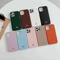 Hermes leather phone case for iphone 12 pro max 11 pro max xs max 7 8